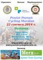 Plakat - I Cycling Maraton Poznań 2014